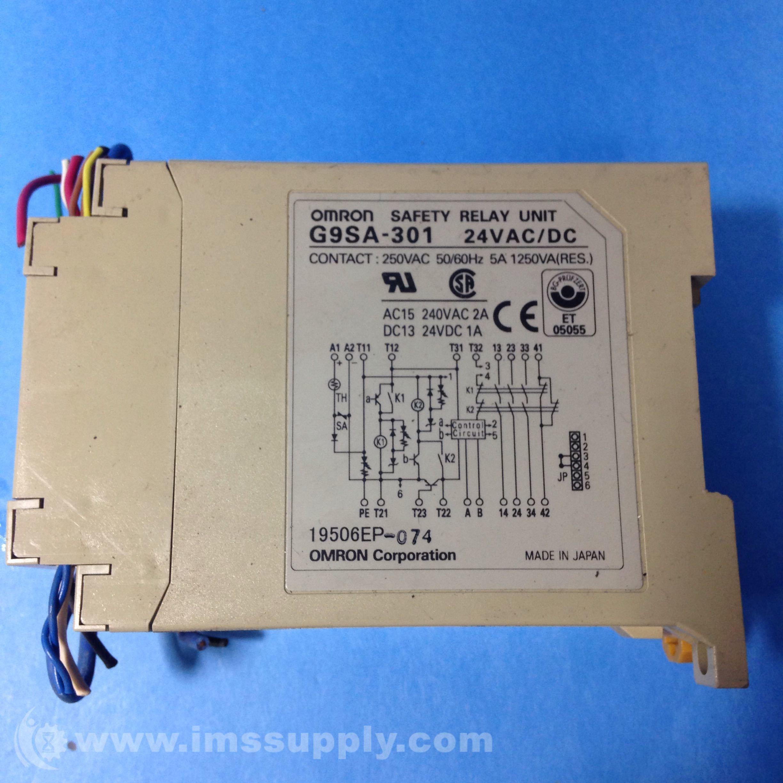 Omron G9SA-301 Safety Relay on