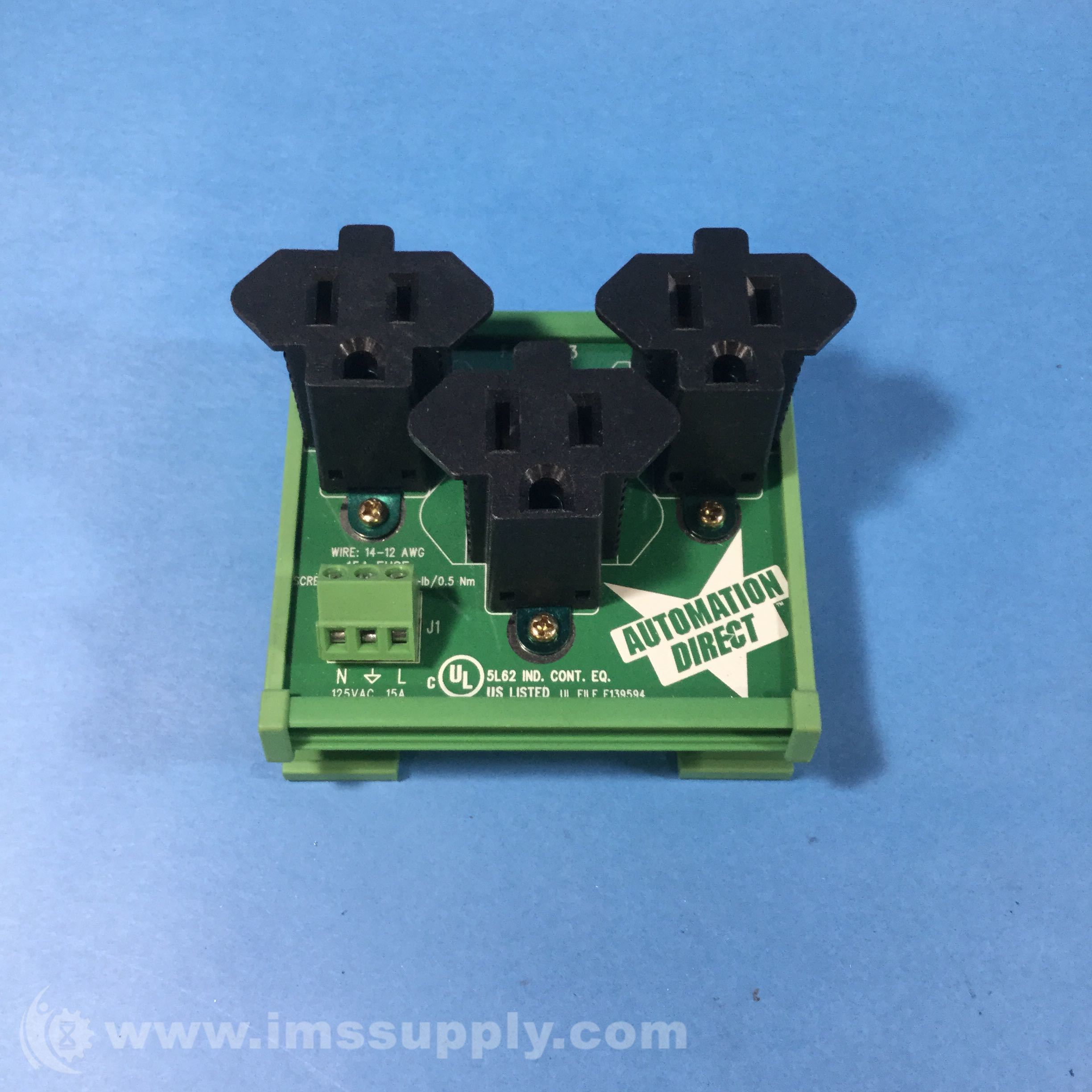 Facts Engineering FA-REC-3 Receptacle Three Outlet 125V 15AMP - IMS ...