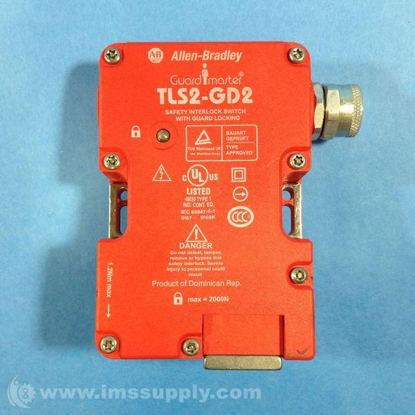 Allen Bradley Tls2 Gd2 Safety Interlock Switch With Guard