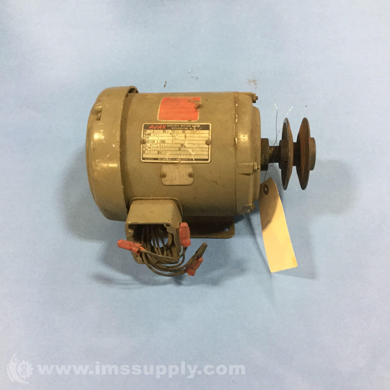Ajax Electric Co Ut 2 145t 2hp 1725rpm 143t Frame 3ph 230