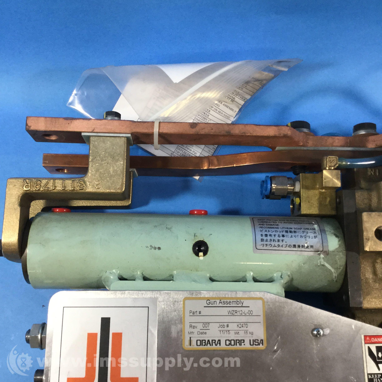 Obara Corp Wzr12 L 00 Welding Gun Assembly Ims Supply Diagram