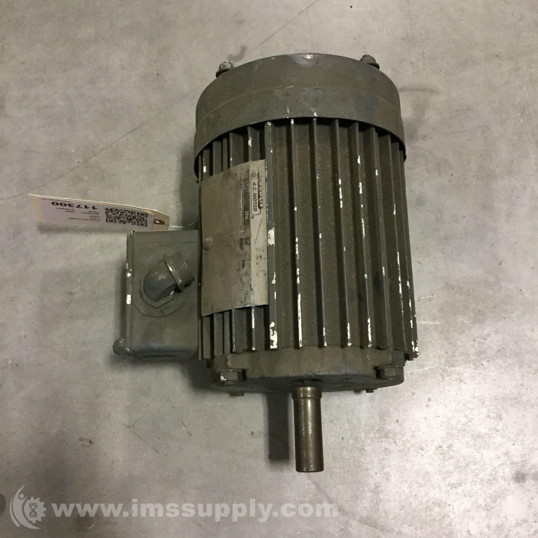 Lincoln motor t 2514 elec mtr 2hp 3525rpm 3ph 230 460v for Lincoln electric motors catalog