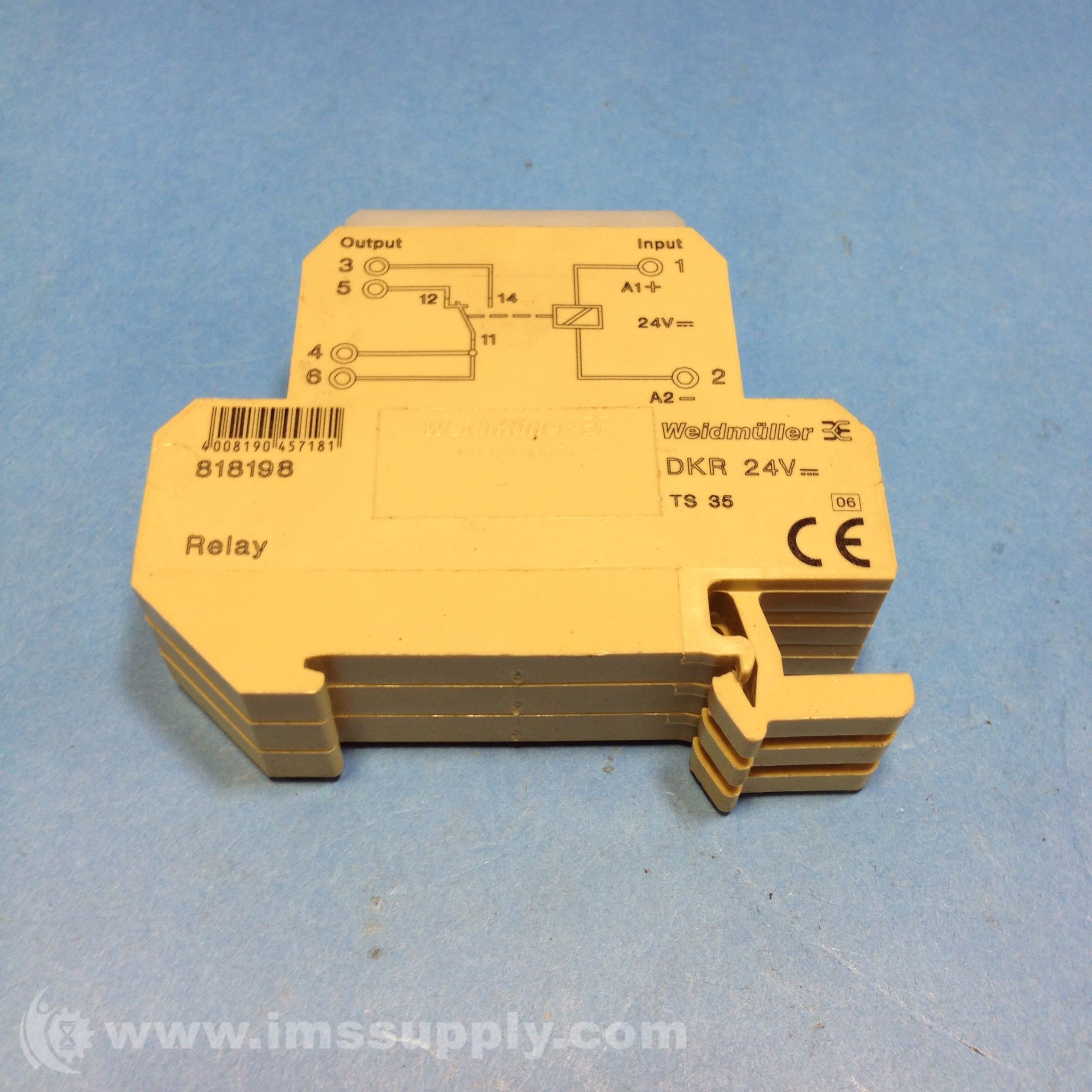 Weidmuller 818198 Terminal Relay IMS Supply