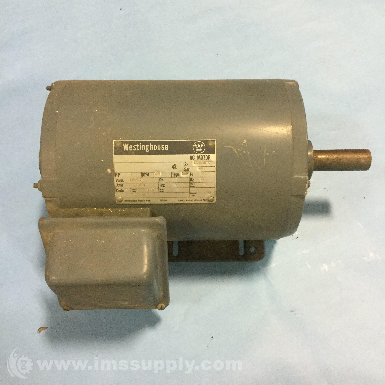 Westinghouse Sb0p Ac Motor Ims Supply