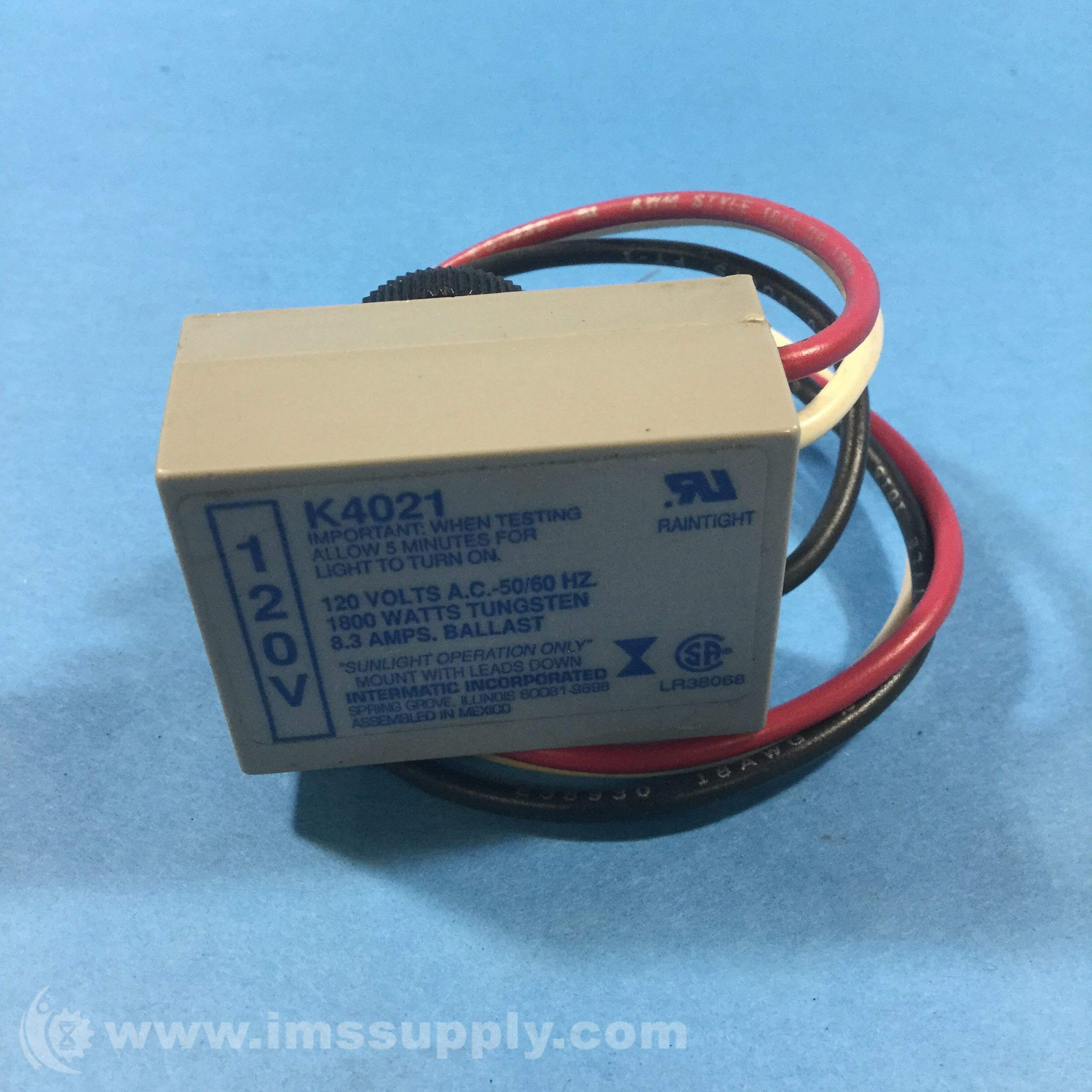 120 Volt Photoelectric Sensor Intermatic Switch Wiring Diagram Ims Supply 2448x2448