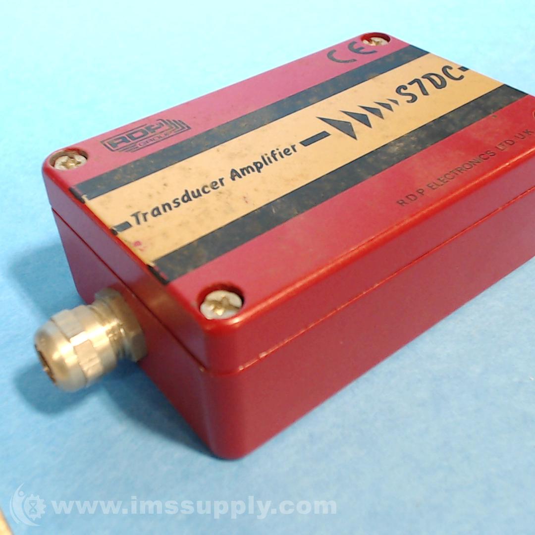 Rdp Electronics Transducer Amplifier S7DC-14 New Open Box