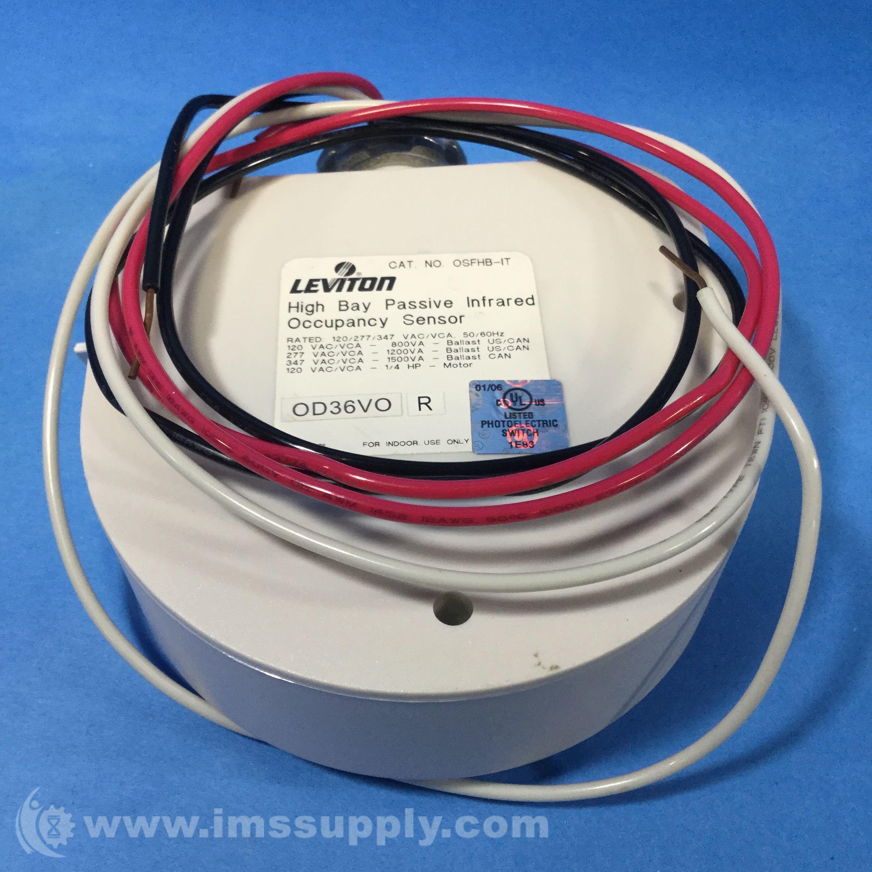 Leviton Osfhb Itw Motion Sensor Ims Supply Wiring Photocell 277vac