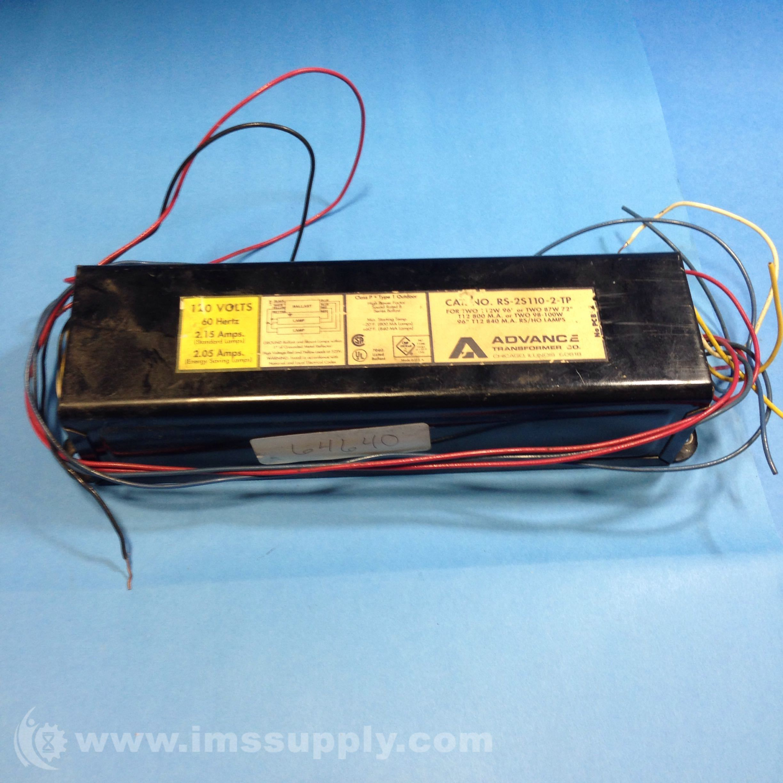Advance Transformer RS-2S110-2-TP Ballast Magnetic