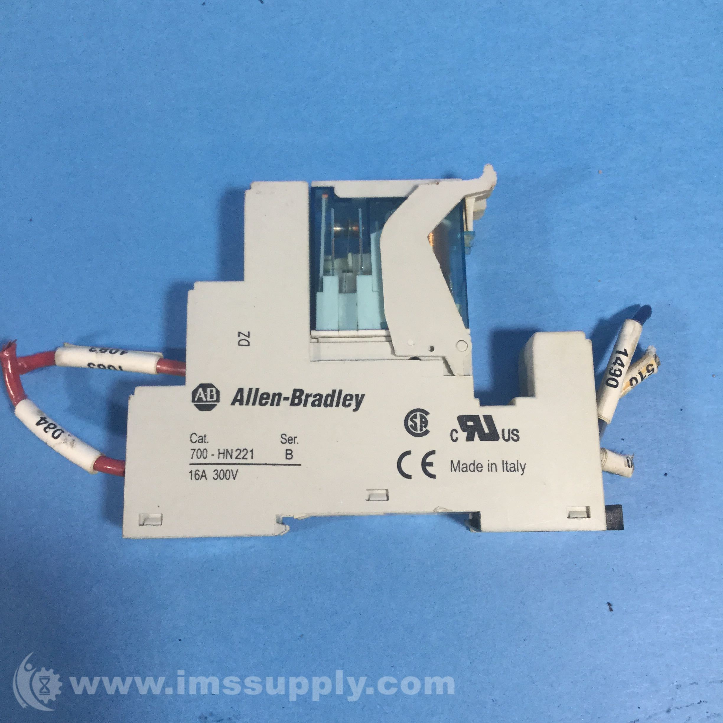 Allen Bradley 700 Hn221 5 Blade Screw Terminal Relay Socket Ims Supply