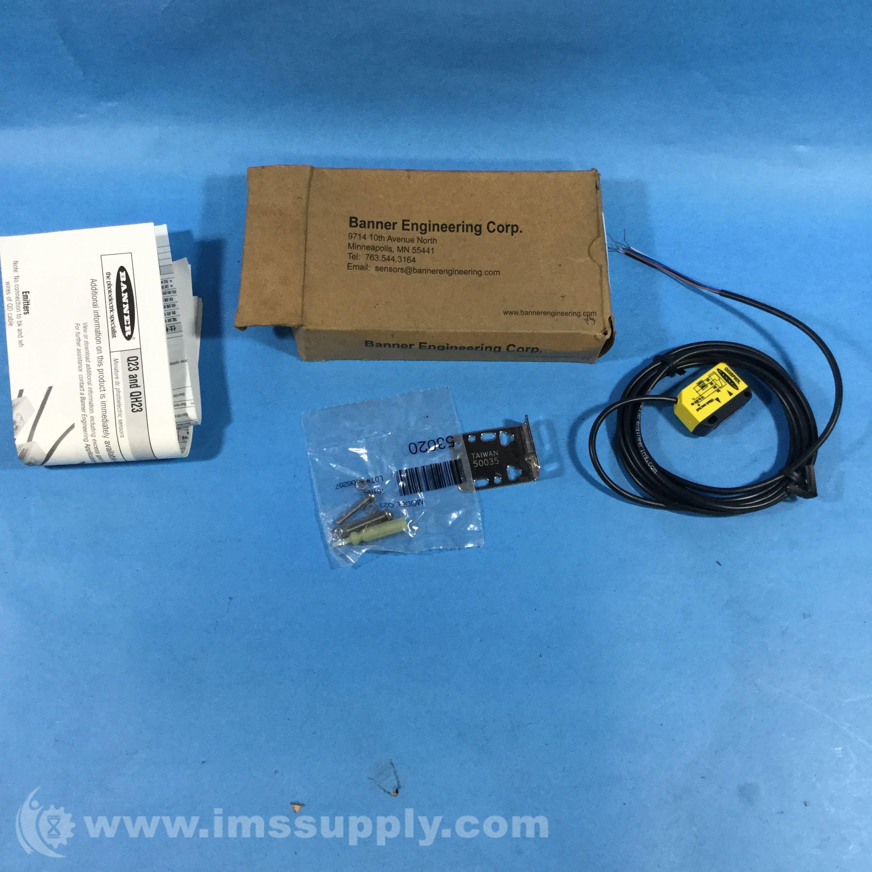 Banner Q23SP6DL Photoelectric Sensor - IMS Supply
