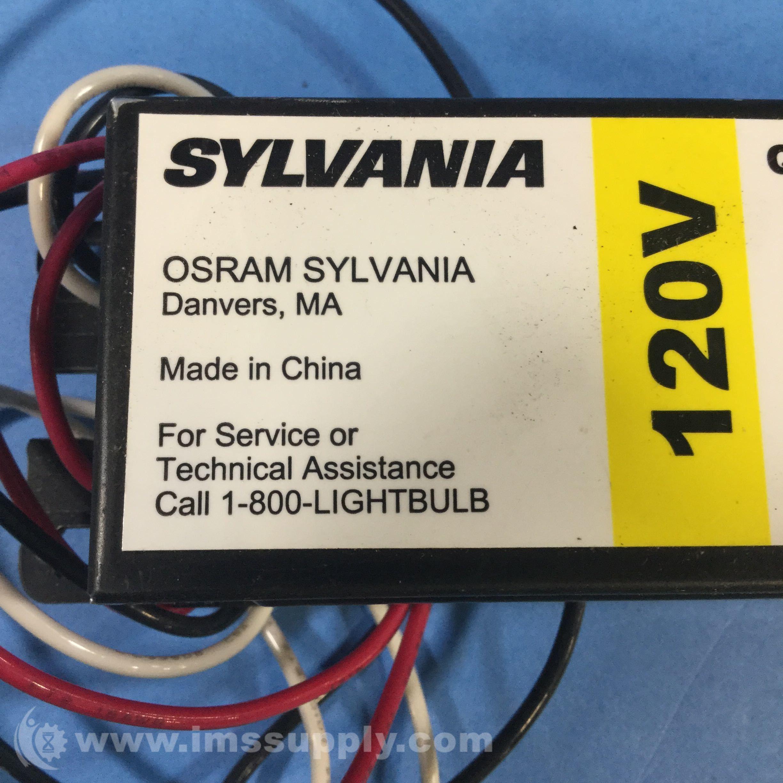 Sylvania Qt2x32 120 Is Sc Quicktronic Flourescent Ballast Ims Supply Osram Wiring Diagram