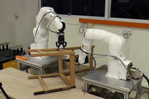 Robots are Shown to be Superior to Humans Because They Can Put Together IKEA Chair