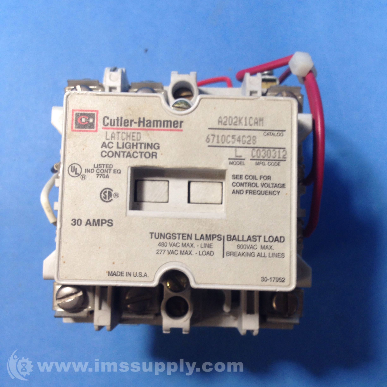 Cutler Hammer A202K1CAM Lighting Contactor - IMS Supply
