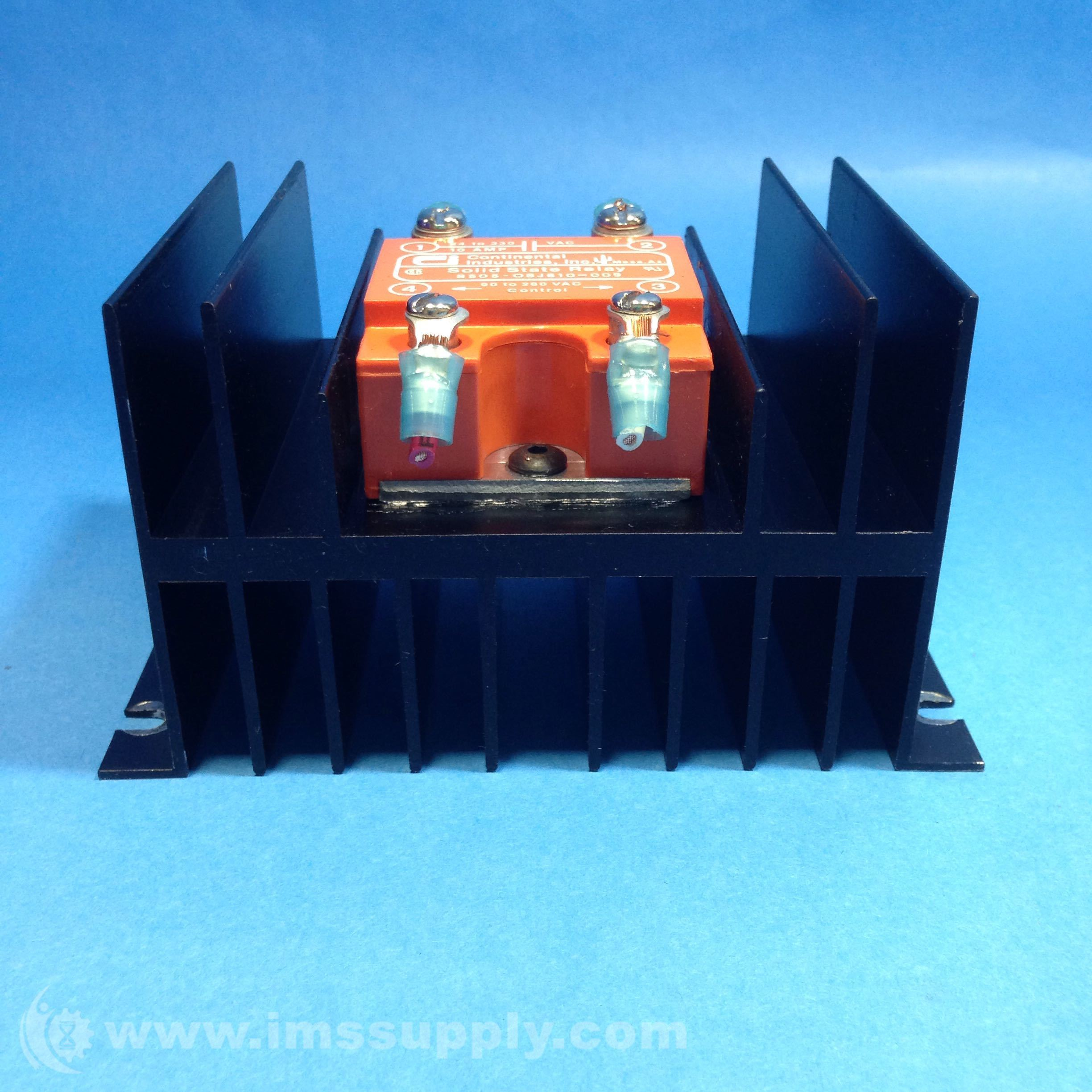 Continental Industries S505 0sj610 009 Solid State Relay Ims Supply Brands