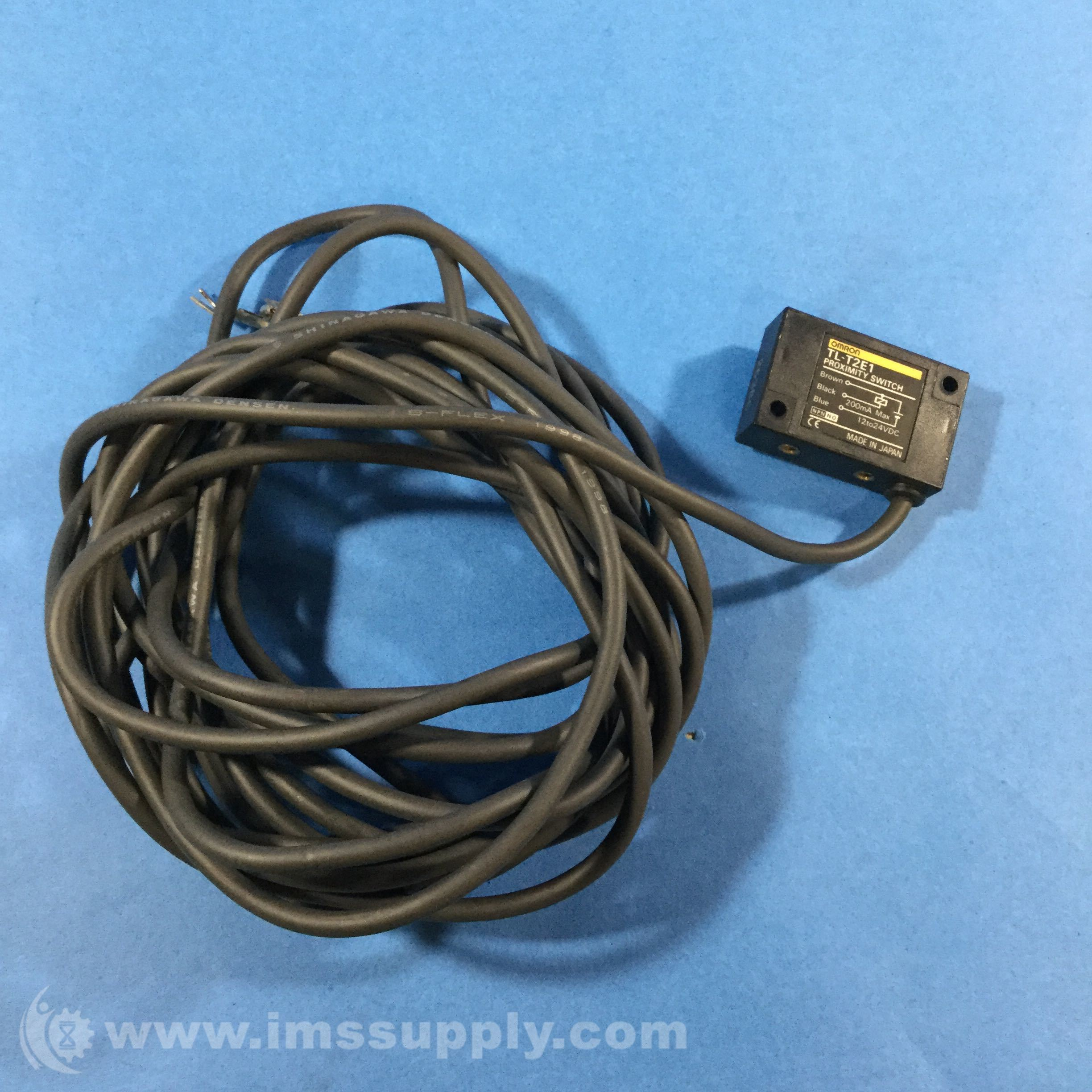 Omron TL-T2E1 Inductive Proximity Switch, TL-T Series, Slim, 2 mm ...