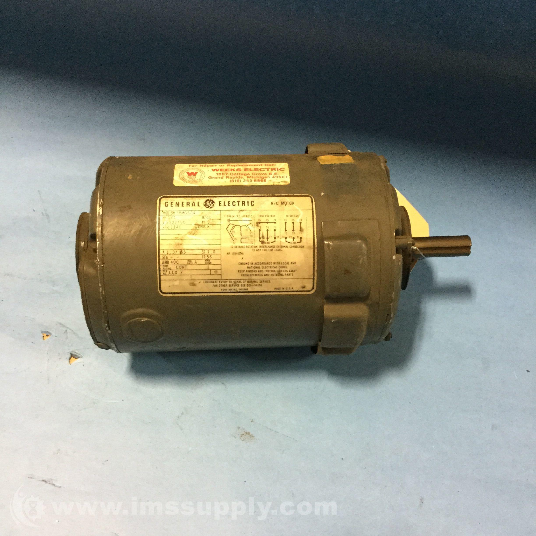 General Electric 5k38mg524 Ac Motor 1 4hp 1140rpm 3ph