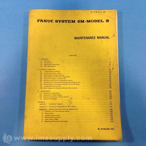 Fanuc 6m Maintenance manual free