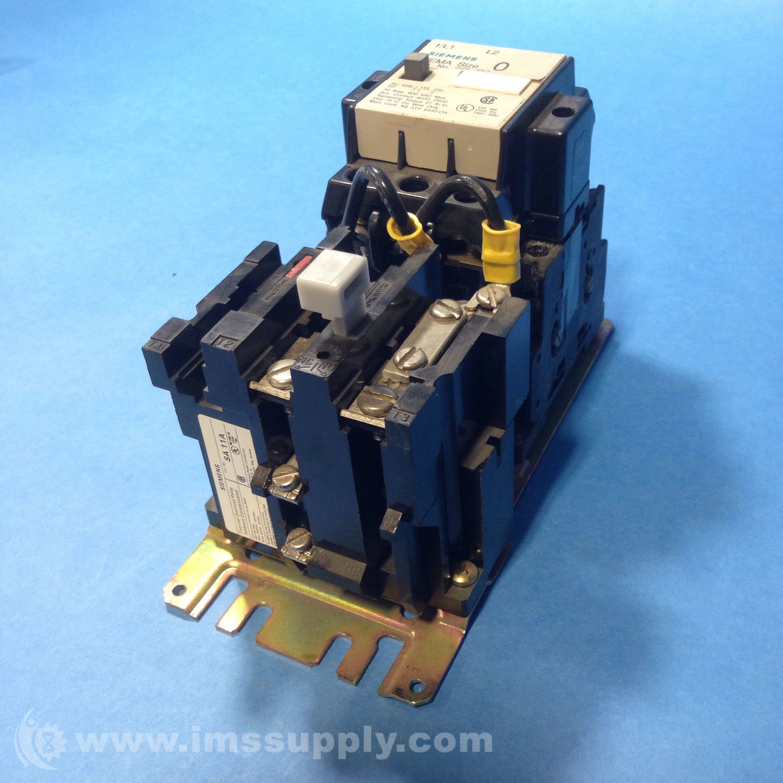 Siemens SA 11A Thermal Overload Relay - IMS Supply