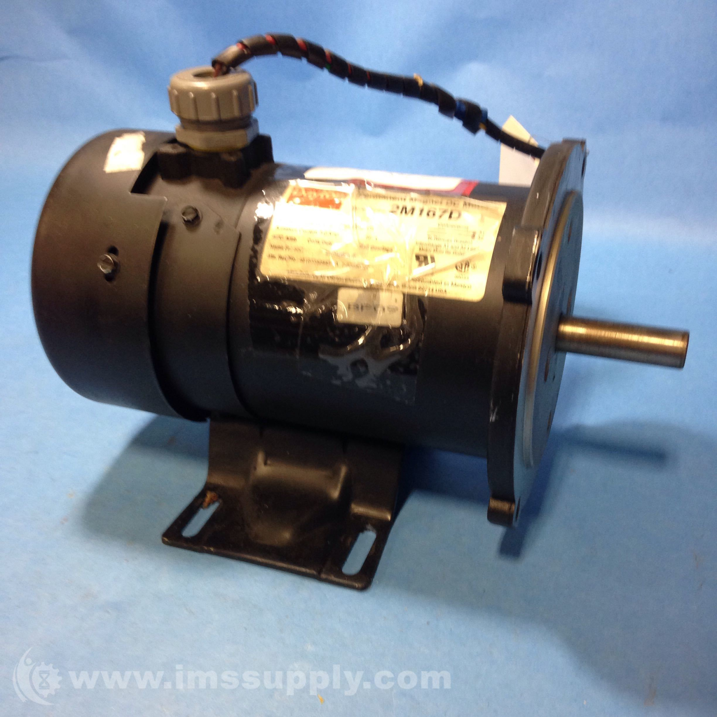 Dayton 2m167d Electric Motor 1 4hp 1725rpm 90 Vdc Ims