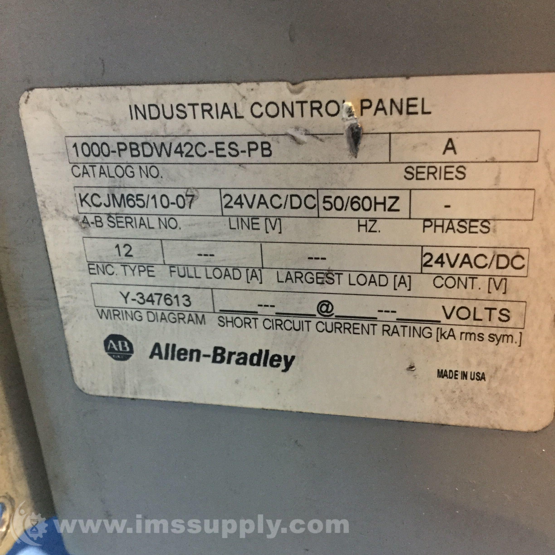 Nett Allen Bradley 1000 Bilder - Elektrische Schaltplan-Ideen ...