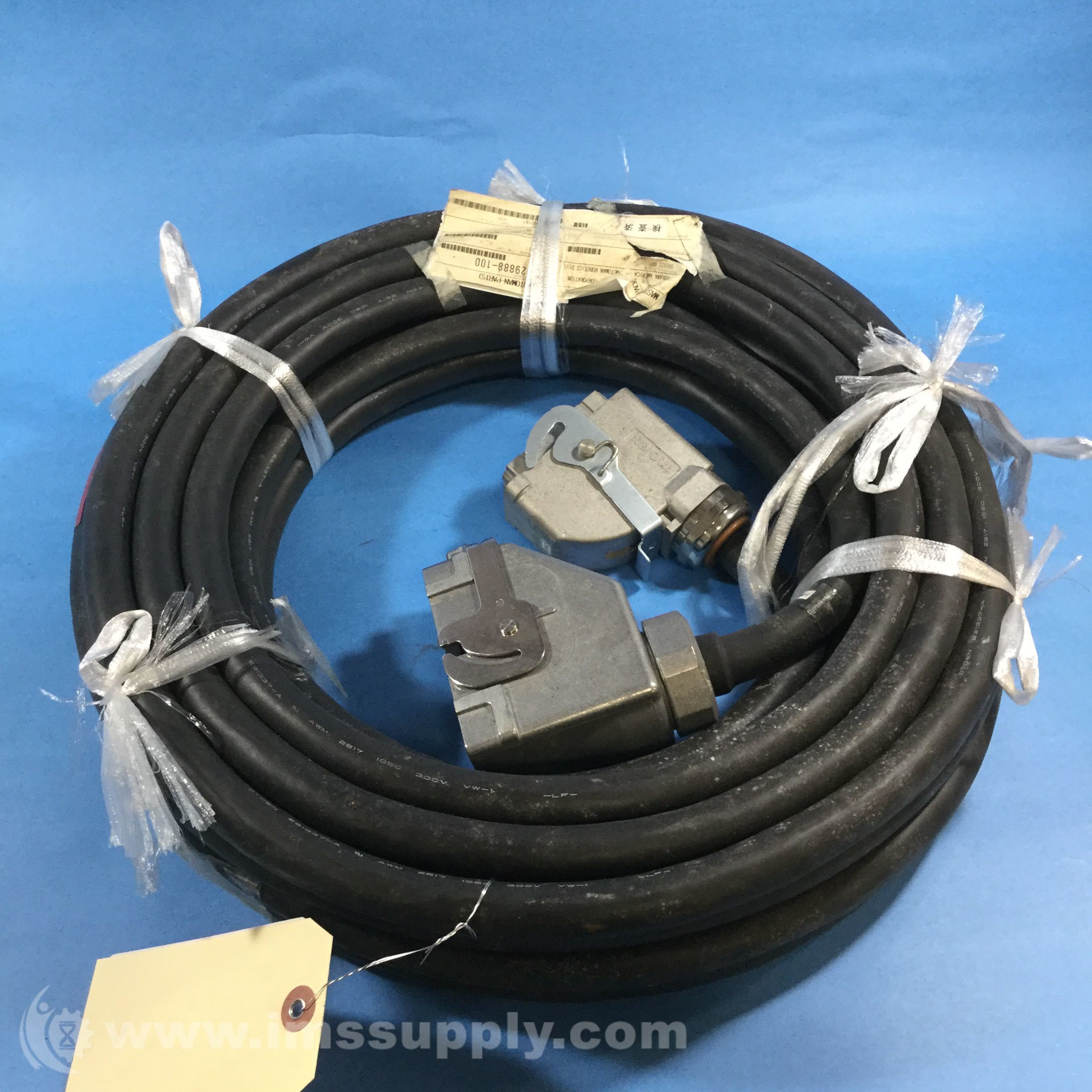 Astonishing Motoman Hw1270301 15 Robot Wiring Harness Cable Ims Supply Wiring Cloud Brecesaoduqqnet