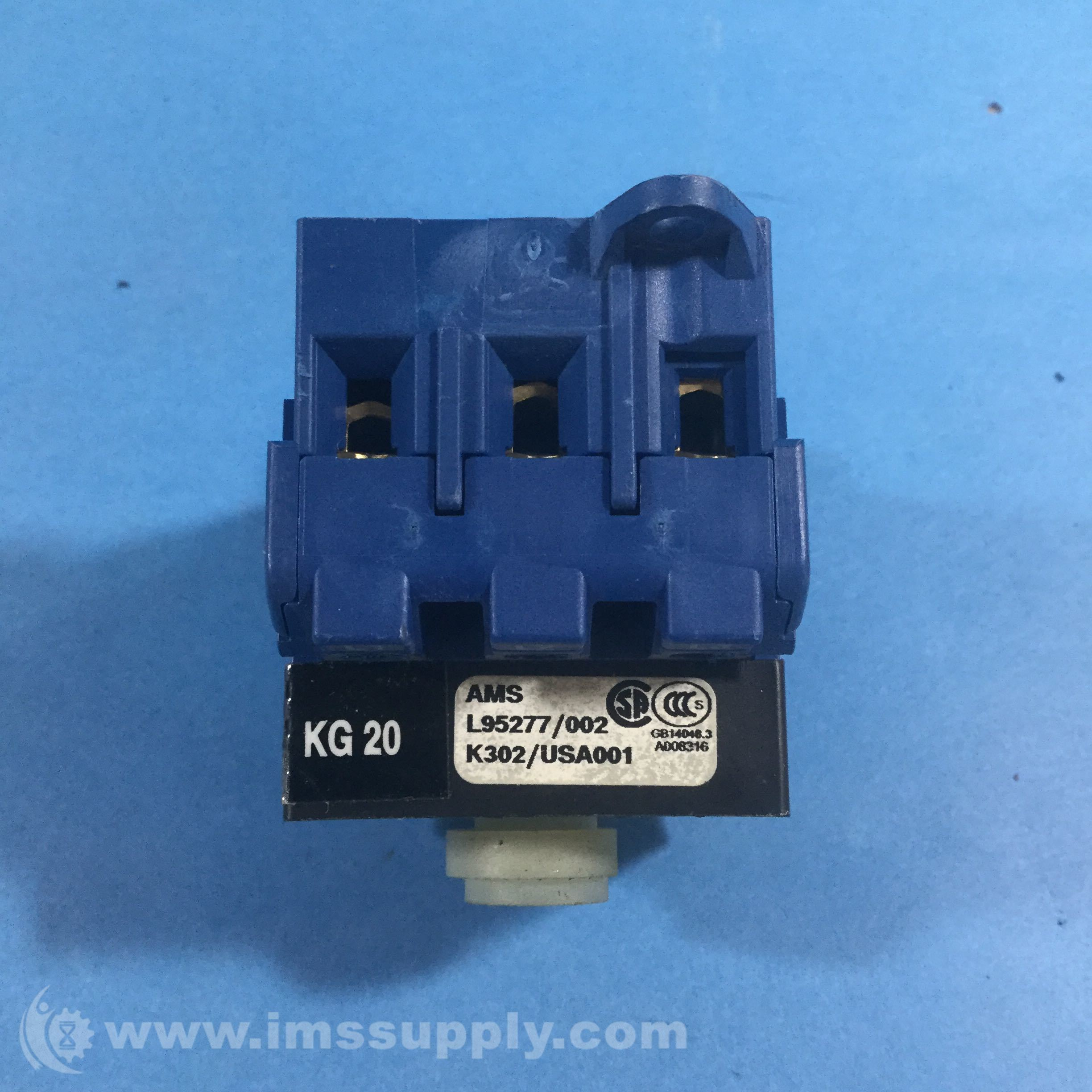 Kraus /& Naimer KG250 Rotary Disconnect Switch 250A 3-Pole