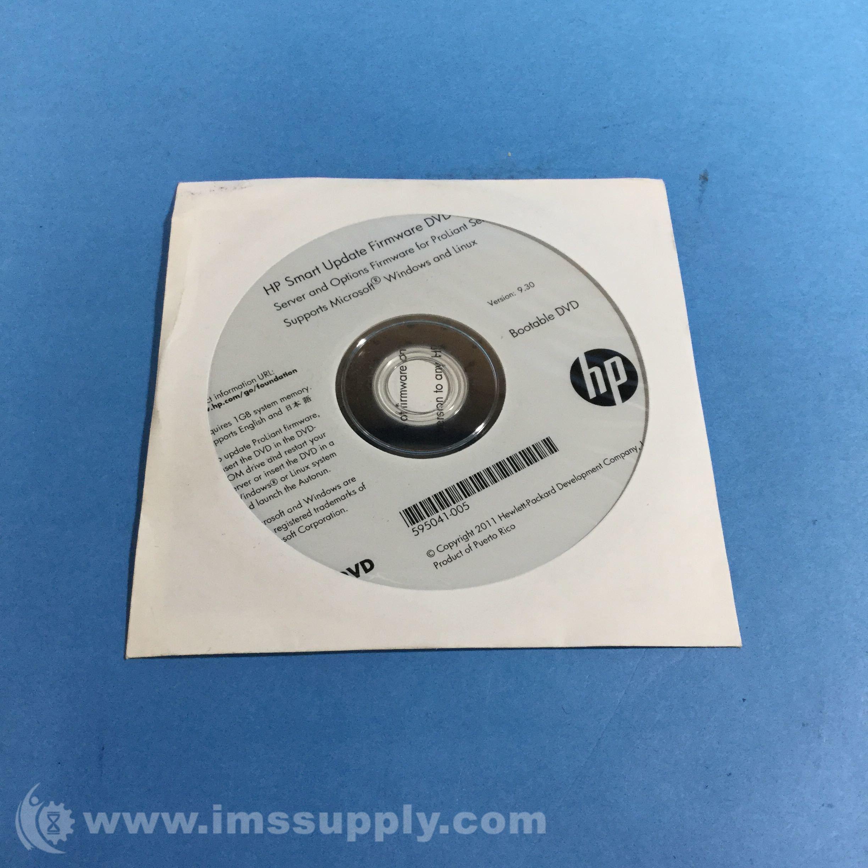 Hp 533942-009 smart update firmware dvd fnfp | ebay.