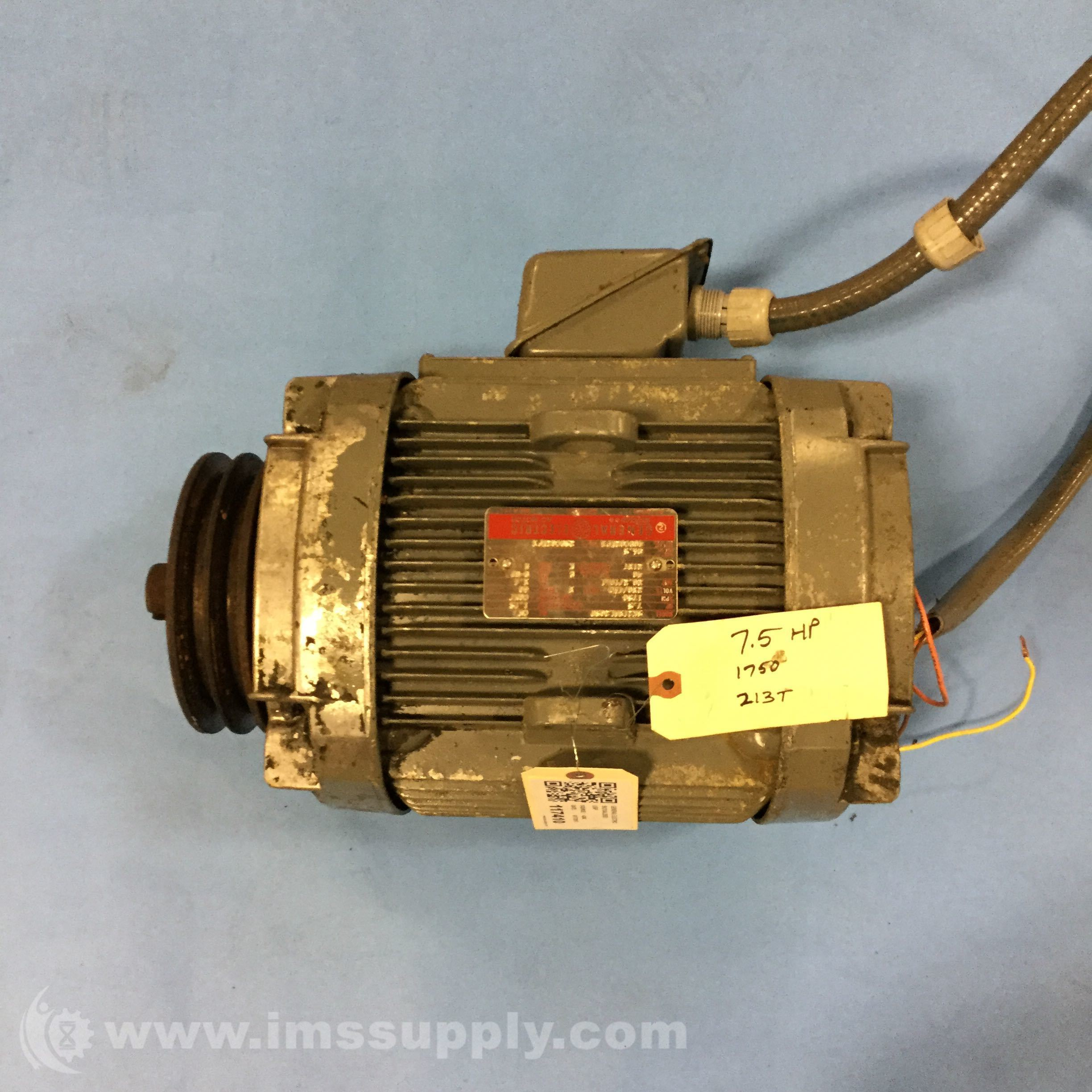 General electric 5k213al2080 ac motor ims supply for Ge electric motors catalog