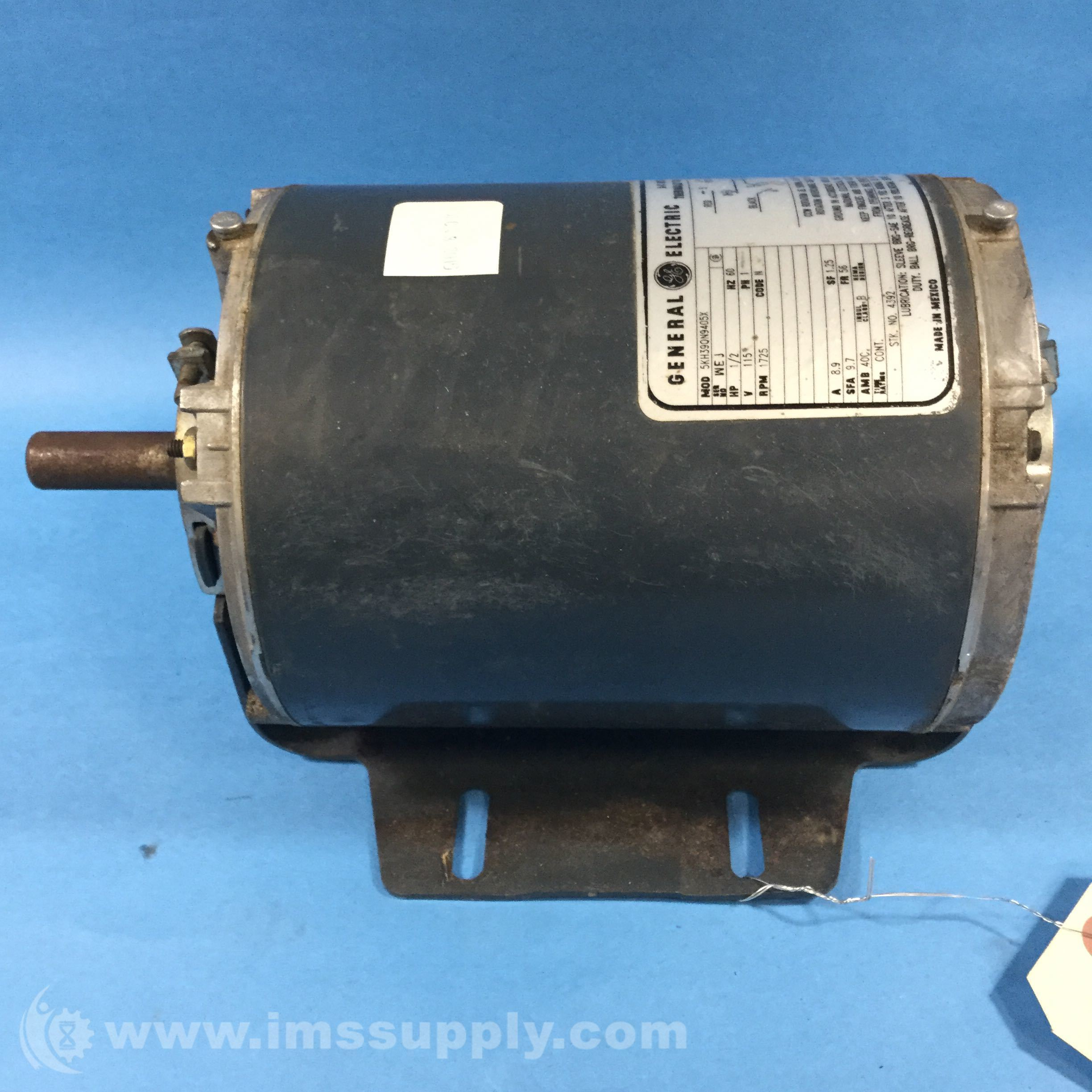 General electric 5kh39qn9405x ac motor ims supply for Ge electric motors catalog
