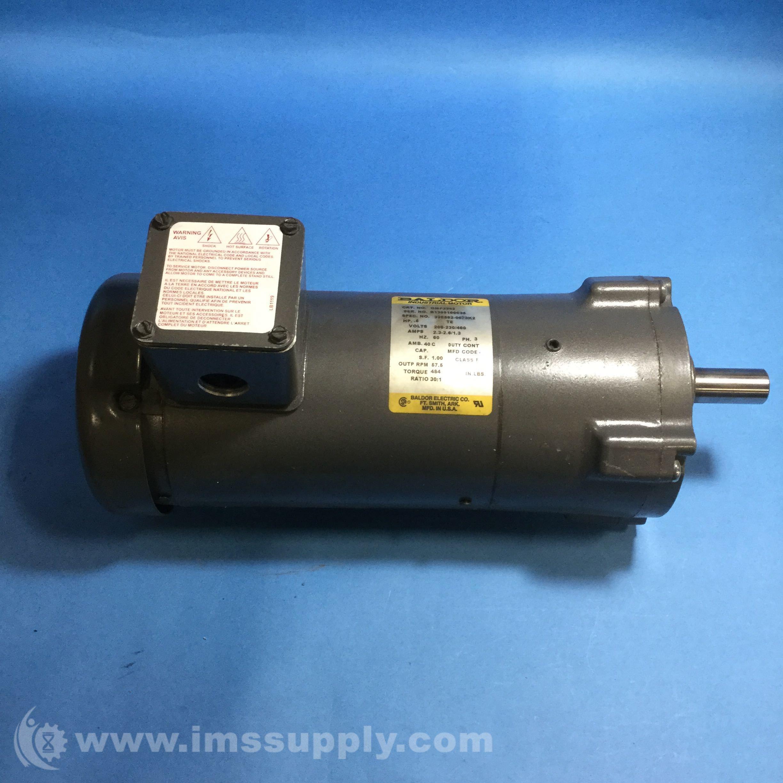 Baldor gmp3342 gear motor ims supply for Baldor gear motor catalog